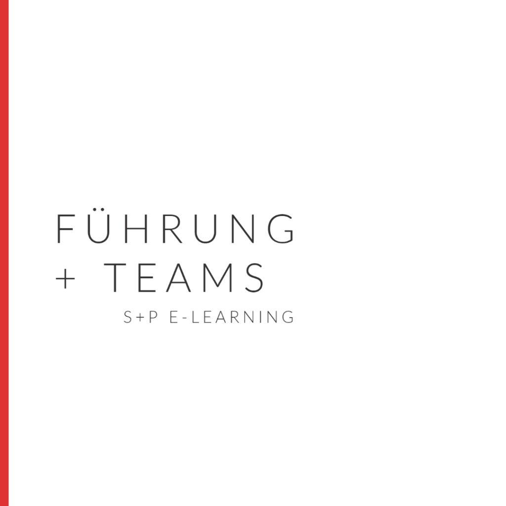 E-Learning Führung & Teams